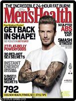 Men Health Cover David Beckham Refrigerator Magnet