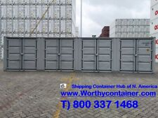 Open Side Os 40 Hc Cwiicl 5 Shipping Container In Chicago Il
