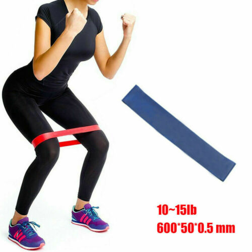 Resistance Pull UP Bands Loop Heavy Duty Exercise Sport Fitness Gym Yoga UK