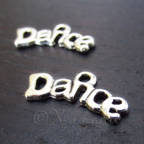 20 Or 50PCs Dance Charms 20mm Wholesale Silver Plated Pendants C2666-10
