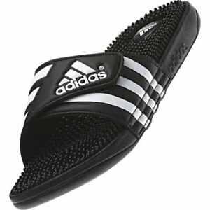 7cdb615c8f5c Image is loading New-Adidas-Adissage-078260-Black-Slippers-Men