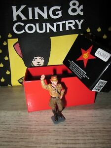Boite King & Country Neuf = Sa001 - Soldat Allemand Au Pas Main Sur La Ceinture