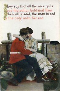 Postcard-Soldier-Romance-Ref-C9