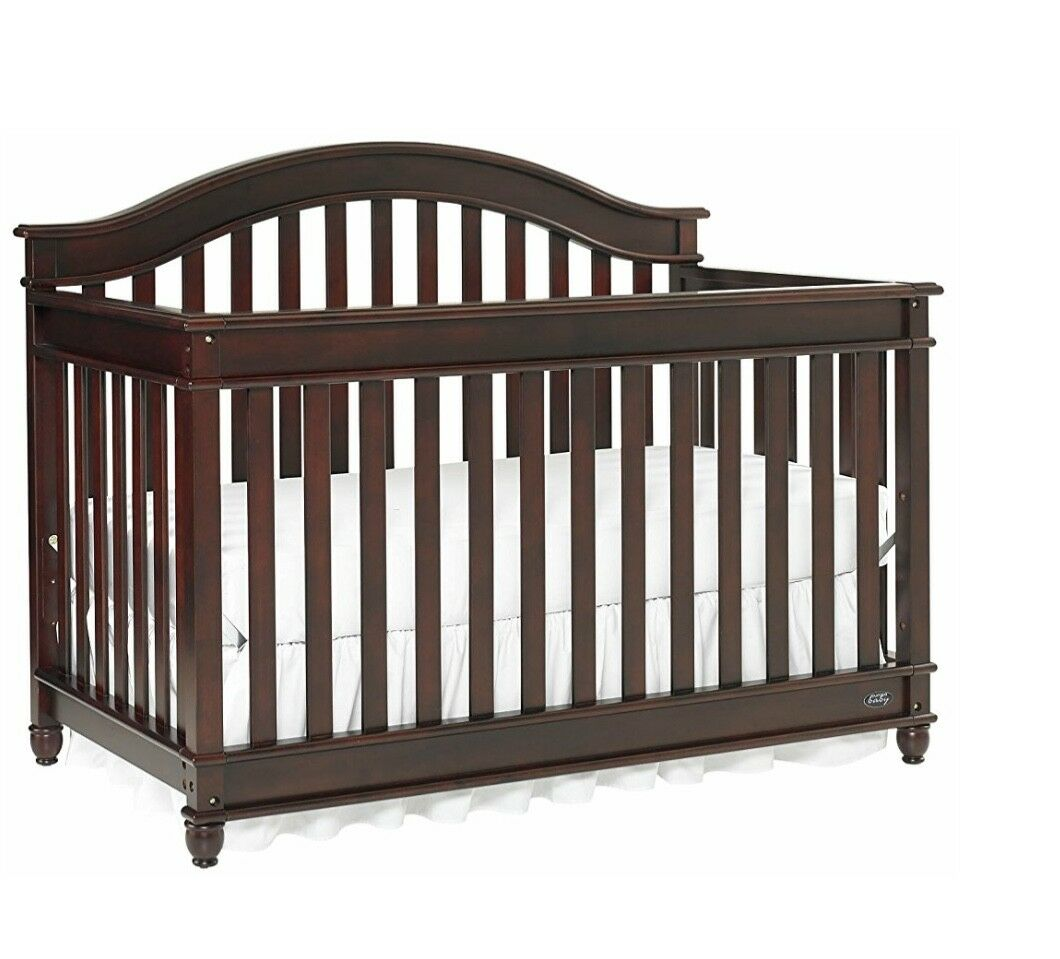 Europa Baby Palisades Convertible Crib Cherry For Sale Online Ebay