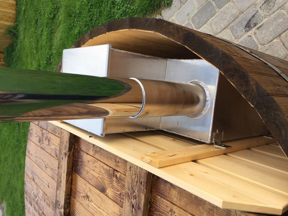 Vildmarksbad Ø180 cm m/ind. ovn - – dba.dk – Køb og Salg af Nyt og Brugt