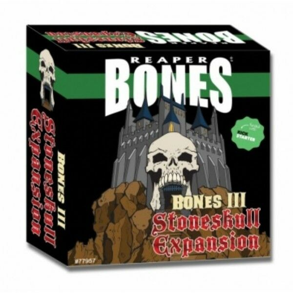 Reaper Bones III Stoneskull Expansion  FREE SHIPPING IN U.S.