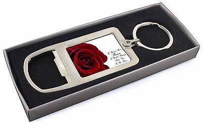 Rose-moglie, Fidanzata Amore Sentimento Apribottiglie In Metallo Cromato Keyr, Love-r4mbo-