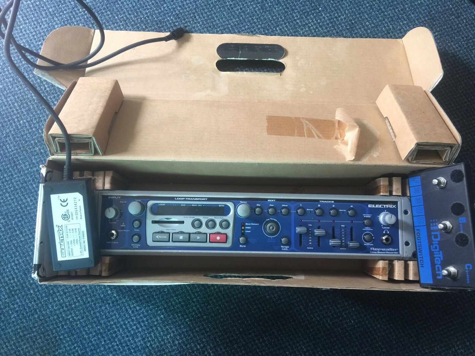 Electrix Repeater, live Looper, Very Good condition