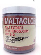 MALT EXTRACT WITH HEMOGLOBIN AND B-12 8 OZ       ( Aumento De Energía )