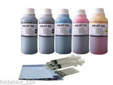 Refill Ink Kit for HP 950 950XL 951XL OfficeJet Pro 8100 8600 5x250ml