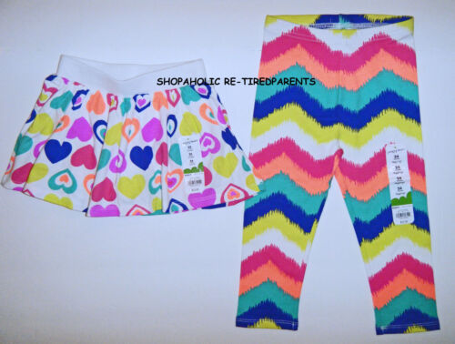 Details about  /JUMPING BEANS – SKORT GIRL TODDLER 24 MO – NWT $12 BRIGHT COLORS