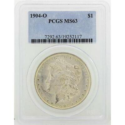 1904-O PCGS MS63 Morgan Silver Dollar Lot 75