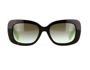 7dd185839afc3 New PRADA Womens Sunglasses SPR27O QFL-0A7 HAVANA Frame Gray Lens ...