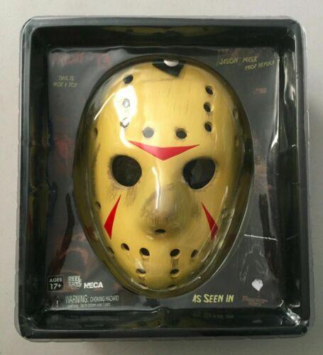 NECA Friday the 13th 3D Jason Voorhees Prop Replica Masque de Hockey Neuf Horreur