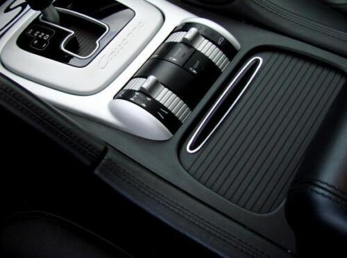 Porsche Cayenne Turbo S GTS 9PA 955 Alu Zierblende Becherhalter Rollo Ablagefach