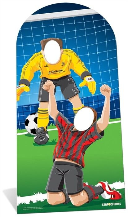 WORLD FOOTBALL EVENT STAND-IN - 1.92m - Football World Cup Party Decoration