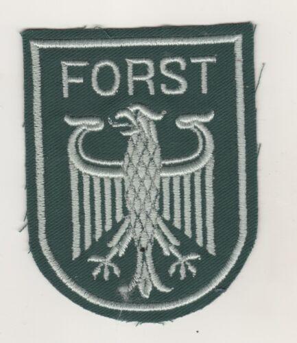 Uniform Ärmelabzeichen Aufnäher Patch Bundesforst Forst Förster