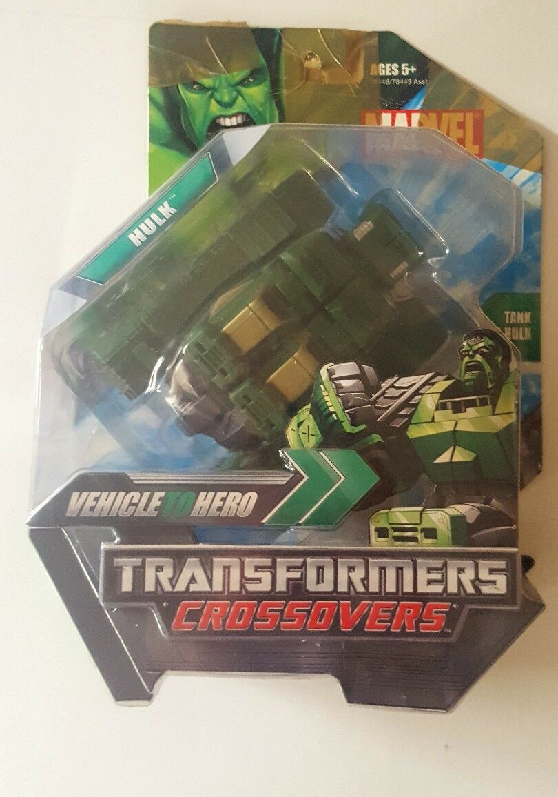 Factory sealed collector´s item Marvel Transformers Crotver Vehicle Hero HULK