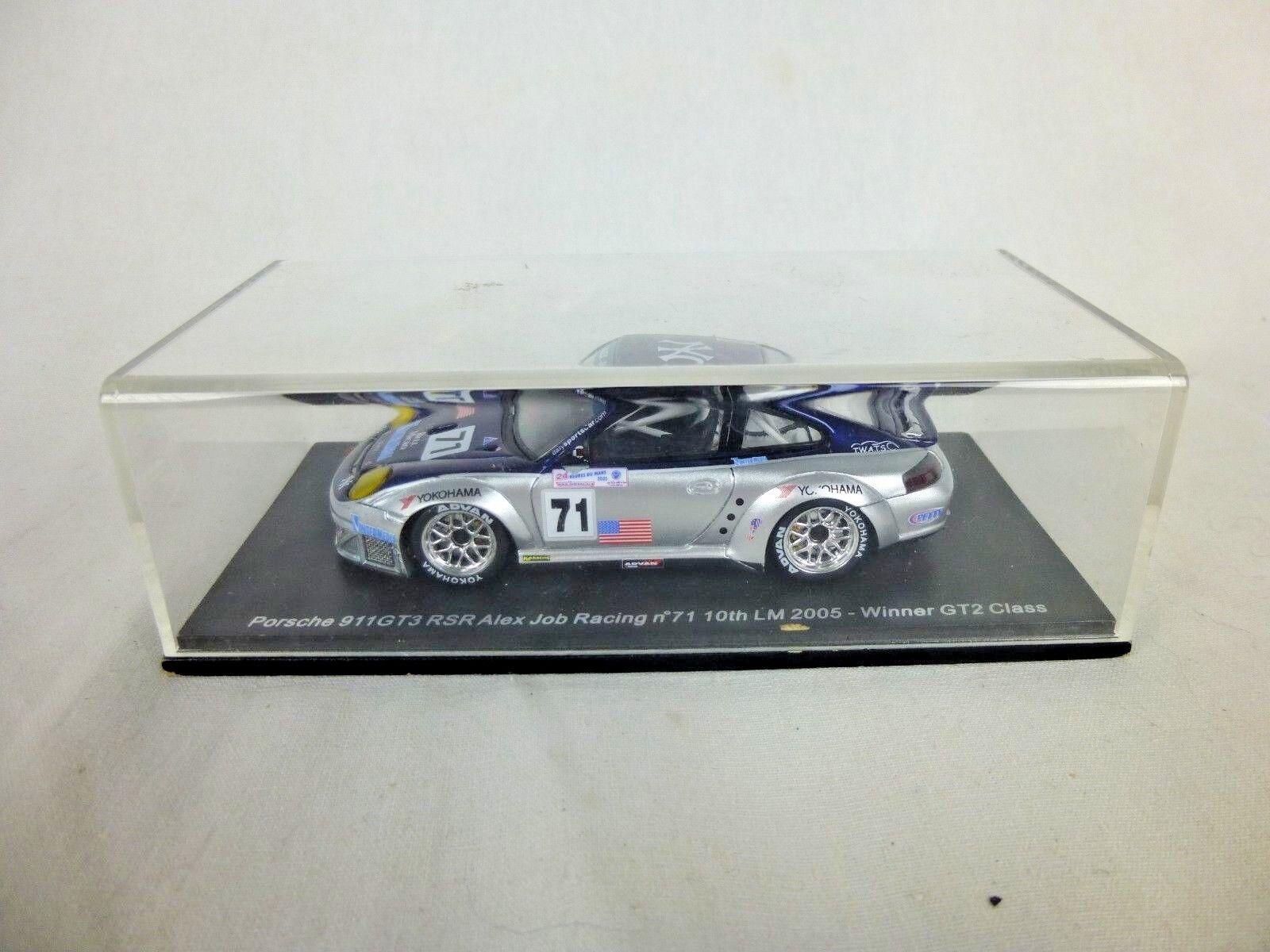 1 43 modelo Porsche 911 (996) GT3 RSR limosna 2005 Alex trabajo GT2 clase como es