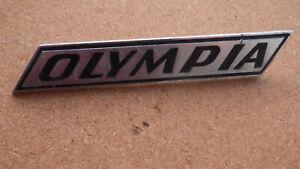 """Schriftzug, Emblem, Opel Olympia A Schriftzug """" Olympia """""""