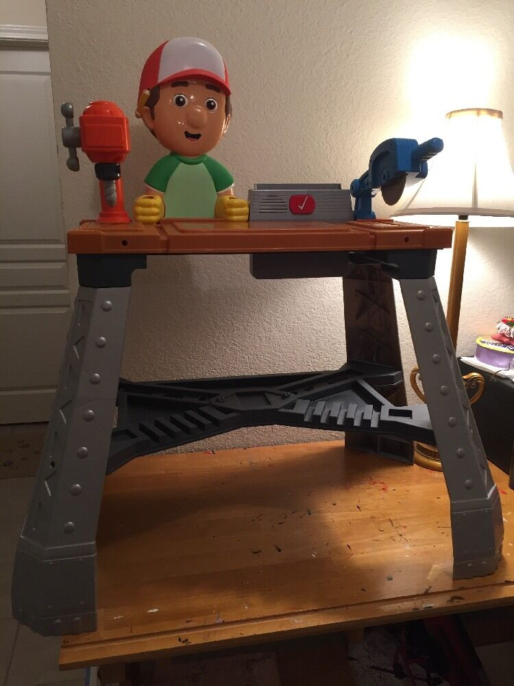 FISHER PRICE Handy Manny's Lets Get To Work Repair Shop