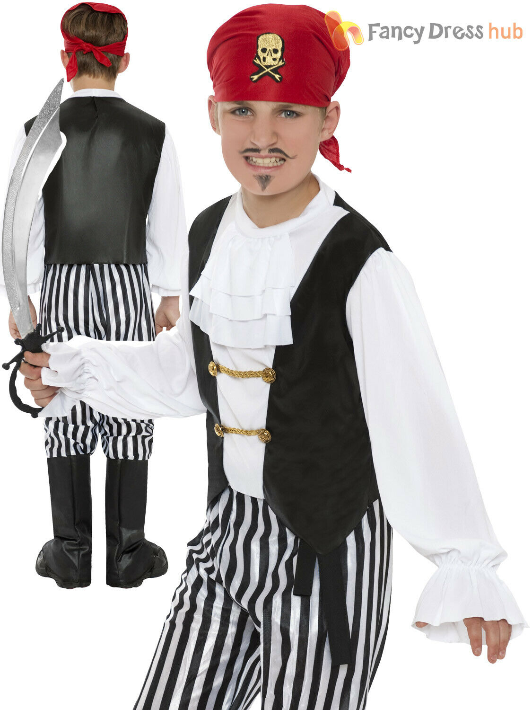Boys 5 Pc Black Ninja Book Day Halloween Japanese Fancy Dress Costume Outfit