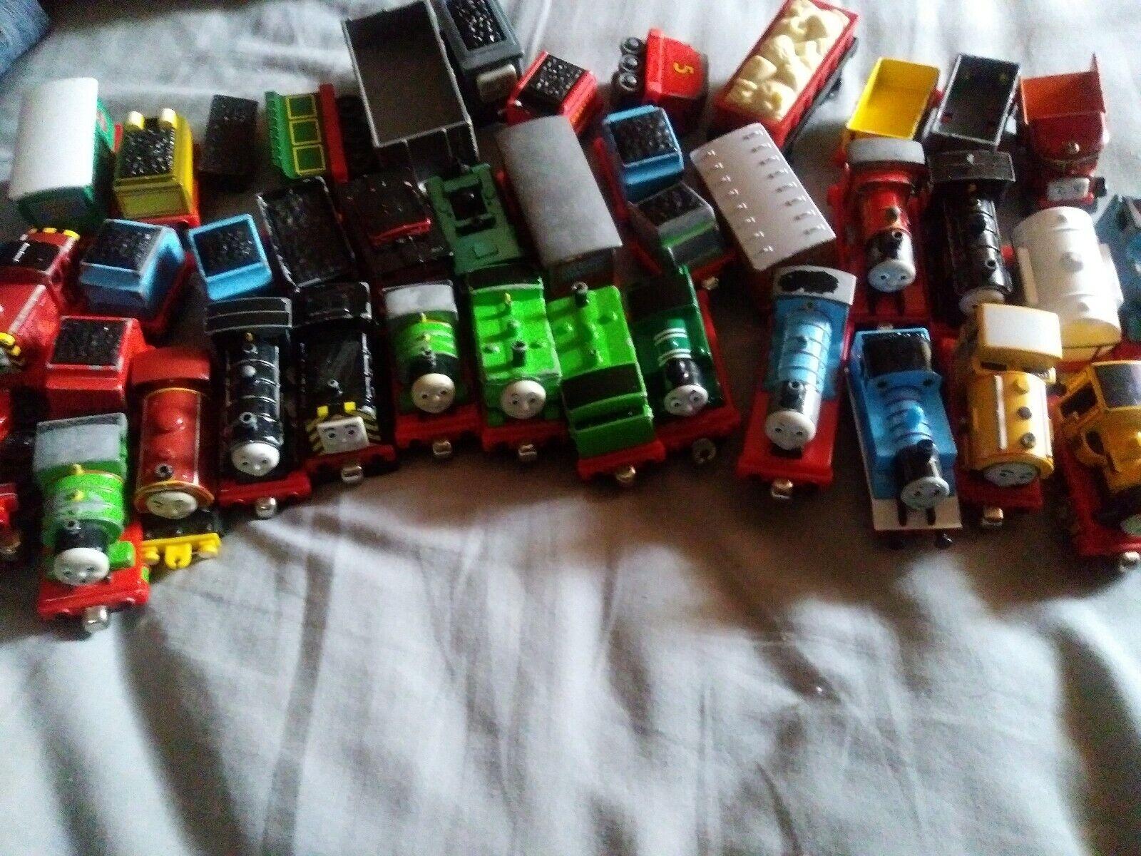 Thomas & Friends Metal Train Car Lot Of 39
