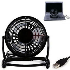 Portable Mini Notebook Laptop Desktop Super Mute PC USB Cooler Cooling Desk Fan