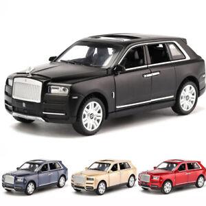 7-Open-Door-Rolls-Royce-Cullinan-Alloy-Simulation-Car-Model-Sound-Light-Toy-UK