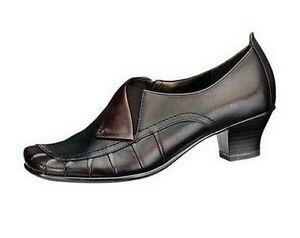 4e0bea7163a9ef Jana Pumps UK4 NEU Gr.37 Damen Schuhe Leder Shoes Hochfront Braun ...