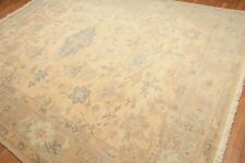 9' x 12' Hand knotted super soft 100% Wool Turkish Oushak muted Area Rug 9x12