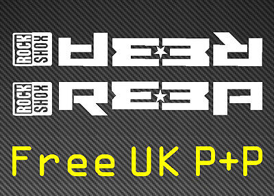 Rockshox REBA Forks World Champ Edition DECALS STICKERS FORX