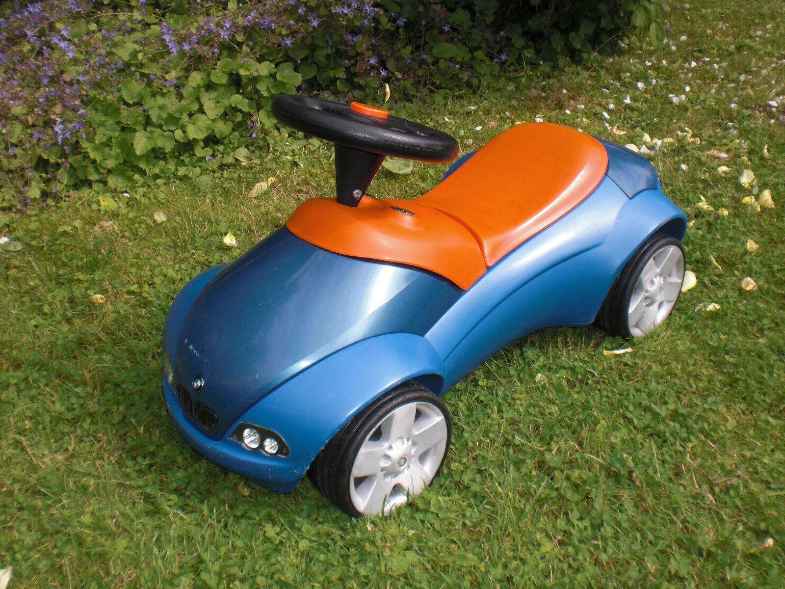 Original BMW Baby Racer blau metallic - Flüsterreifen Breitreifen - Rutscher