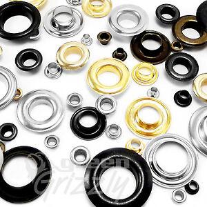 Occhielli-CON-RONDELLA-Leather-Craft-Guarnizioni-Riparazione-Banner-3-4-5-6-8-10-12-mm