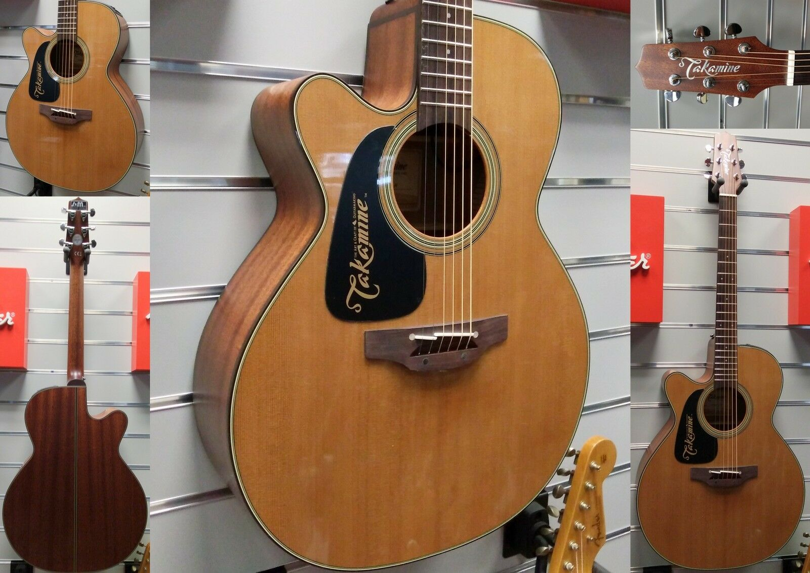 TAKAMINE Pro Serie P1NC LH   Made in Japan   Lefthand Edition