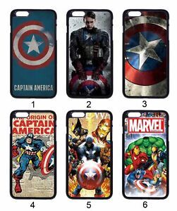 Captain-America-Avengers-Comic-For-Apple-iPhone-iPod-Samsung-Galaxy-Case-Cover