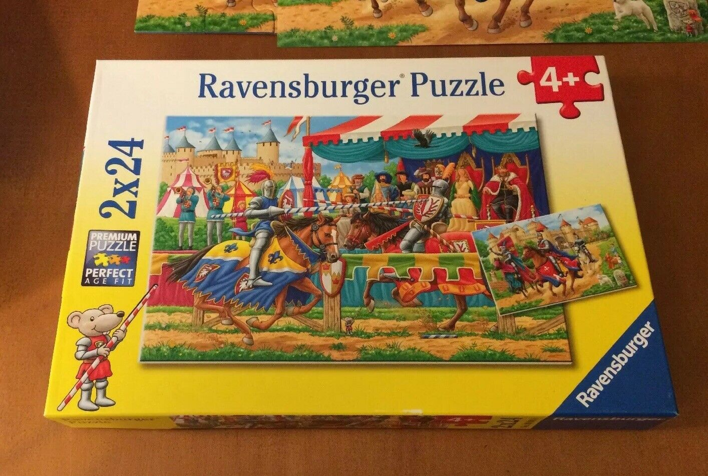 Ravensburger 2 X 24 Called With The Knights
