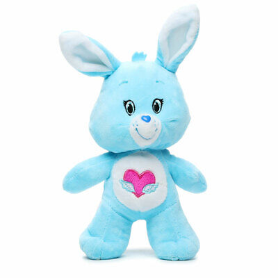 """2017 13/"""" Swift Heart Bear Bunny Rabbit Care Bears Cousin Plush Kellytoy NWT NEW"""