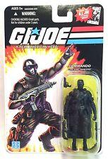 "Hasbro GI Joe Commando Code Name Snake Eyes Hero 3.75"" Action Figure 2008"