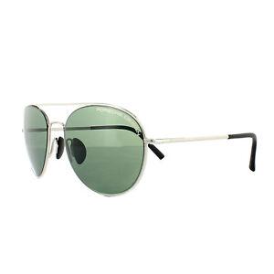 3d2c88543e79 Porsche Design Sunglasses P8606 D V761 Palladium Green 4046901414917 ...