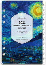 2021 Planner Refill 2021 Weekly Amp Monthly Planner Refill A5 Planner Inserts