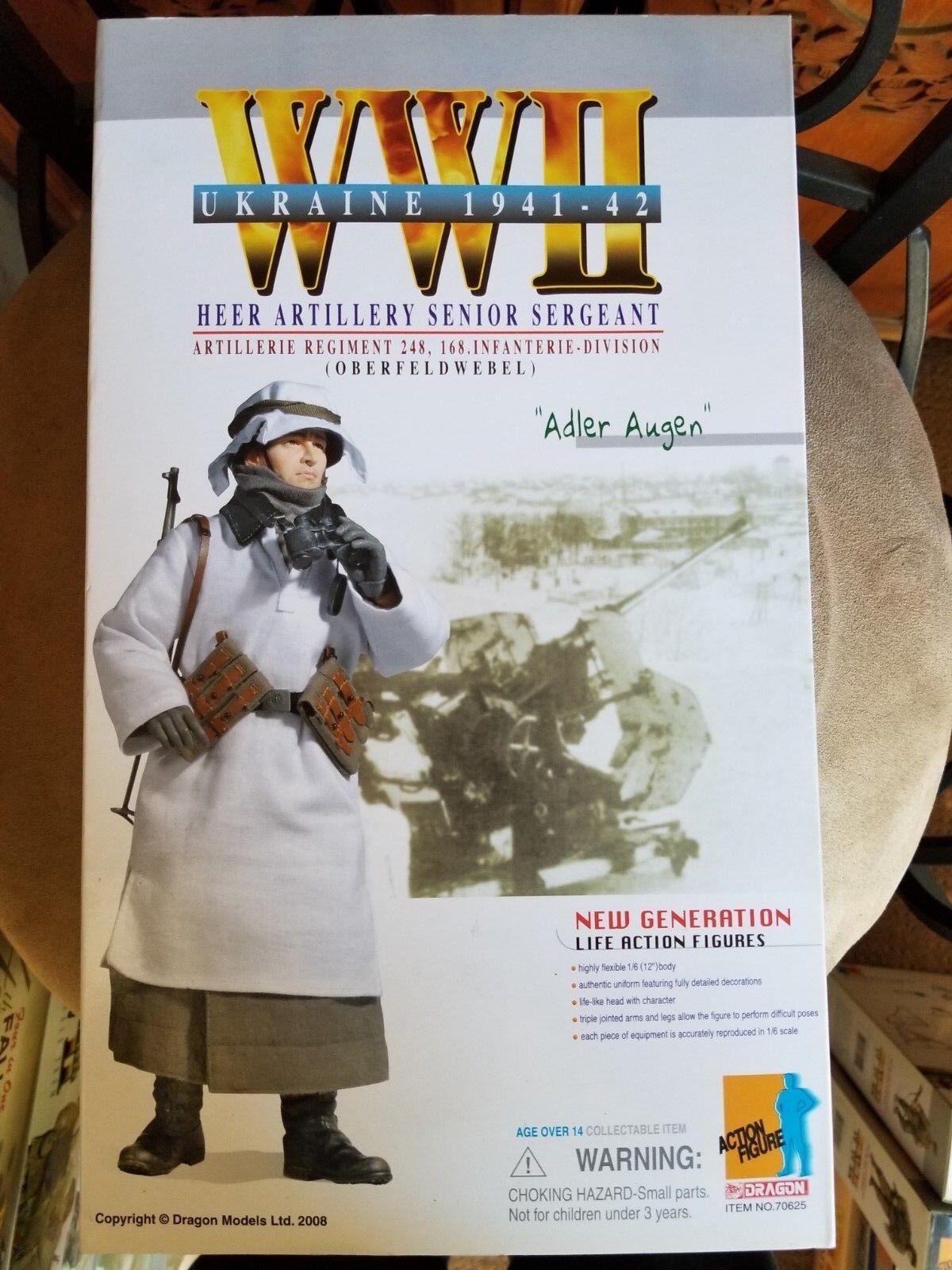DRAGON 1 6 Scale Deuxième Guerre Mondiale Allemand Adler Augen HEER artillerie Ukraine 1941-1942 70625