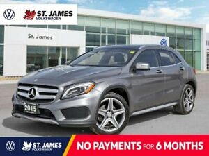 2015 Mercedes-Benz GLA 250, Clean Carfax, Panoramic Sunroof, Backup Camera With Navigation