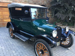 1918 Chevrolet electric car
