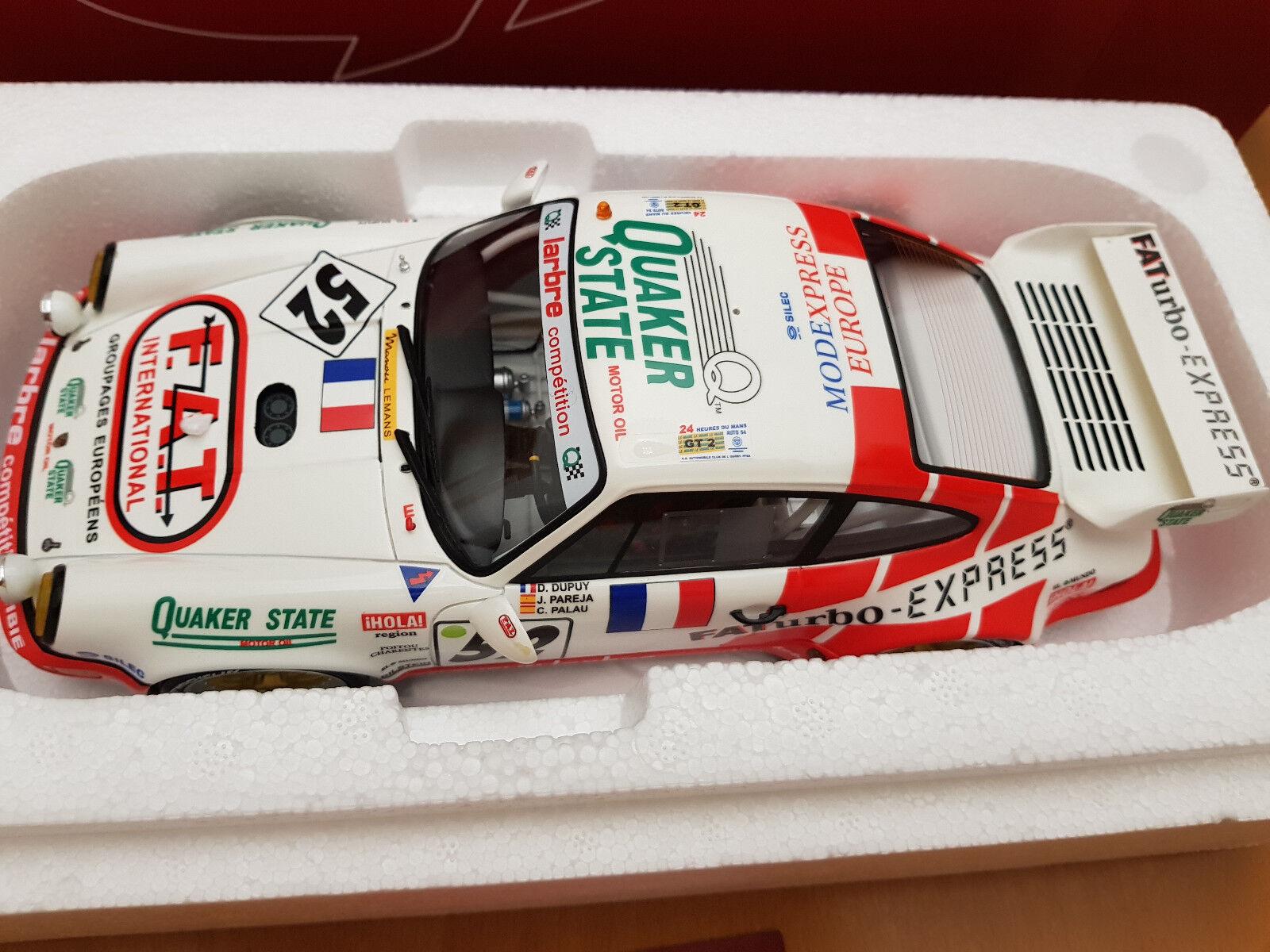1 18 GT Spirit PORSCHE 964 911 RSR GT2 1994 LE MANS  Fat   52 Dupuy