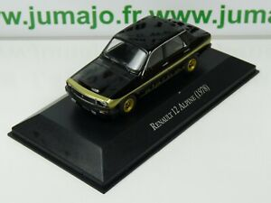 ARG43B-Voiture-1-43-SALVAT-Autos-Inolvidables-Renault-12-Alpine-1978