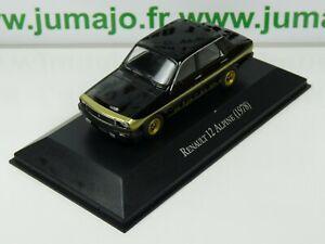 ARG43B-Voiture-1-43-SALVAT-Autos-Inolvidables-Renault-12-Alpine-1978