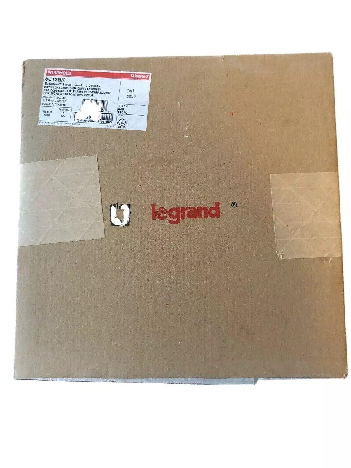 WIREMOLD EFB6S EVOLUTION RECESSED FLOOR BOX 3-GANG STEEL LEGRAND NIB