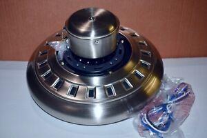 Hampton Bay Menage 52 Quot Led Brushed Nickel Ceiling Fan