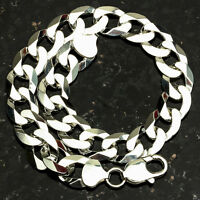 Curb 250-8 10mm Heavy 22 Gram .925 Sterling Silver Bracelet 8 on sale